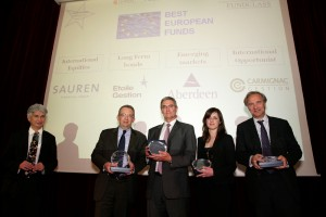 Remise de prix Grand Prix Eurofonds-Fundclass-Eurofonds Fundclass Awards