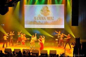 Concert privé Mamma Mia Universal Music à Toulouse pour la promotion de la tournée nationale