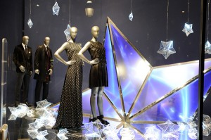 Visual Merchandising Hugo Boss Noel 2011