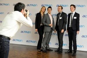 Animation Photocall pour la société Altran Technologies le 21/11/2011