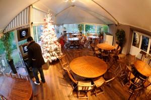 Animation arbre de Noël de l'entreprise RBS au Pavillon Des Oiseaux-Jardin d'Acclimatation le 10/12/2011