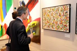 Reportage photo pour Marussia lors d'une soirée de ventes privées au Sotheby's, le 05/12/2011
