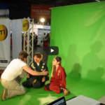 Vidéo sur fond vert