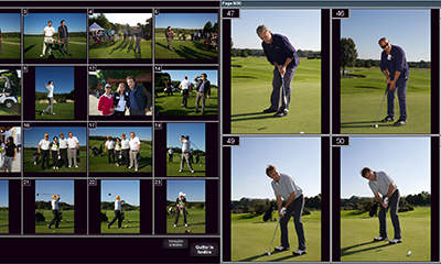 Solution d'impression photos au Format 13×18 lors d'un tournoi de Golf