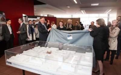 Photographe inauguration nouveaux locaux Télécom ParisTech
